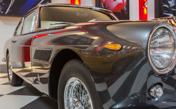Vintage Classical Ferrari 250 GTE Stock Photos