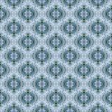 Vintage classical  figured wall-paper, blue2. Retro  background for design. Abstract pattern Royalty Free Stock Images