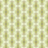Vintage classical  figured wall-paper, yellow. Retro  background for design. Abstract pattern Stock Photo