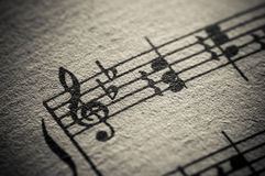 Vintage Classical Music Score Royalty Free Stock Image