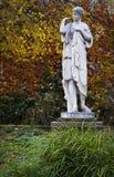 Vintage classical statue in public park Stock Photo
