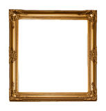 Vintage classical wooden rectangle frame Stock Image