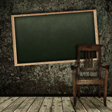Vintage classroom Royalty Free Stock Photo