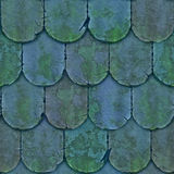 Vintage clay tile Stock Photography