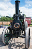 Vintage 1914 Clayton and Shuttleworth Covertible Traction Engine Stock Photography