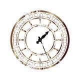 Vintage_clock 皇族释放例证