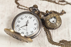 Vintage clock royalty free stock images