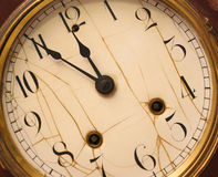 Vintage Clock Stock Image
