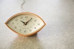 Vintage clock. Royalty Free Stock Photos