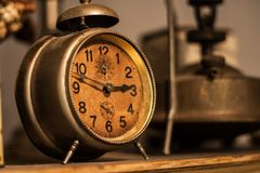 Vintage clock Stock Images