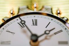 Vintage clock. Horizontal image of vintage clock Stock Photography