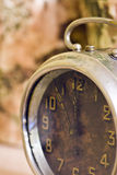 Vintage clock closeup Stock Photography