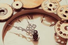 The vintage clock Royalty Free Stock Photos