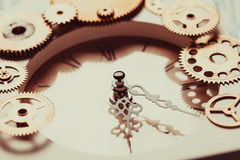 The vintage clock Royalty Free Stock Images