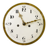 Vintage clock face Royalty Free Stock Images