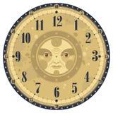 Vintage Clock Face Royalty Free Stock Photos