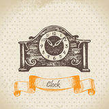 Vintage clock Stock Photos