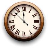 Vintage clock. Stock Photo