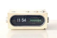 Vintage Clock Radio Set Royalty Free Stock Photos