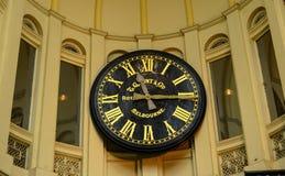 Vintage clock. Royal Melbourne clock at Bourke shopping arcade Royalty Free Stock Photo