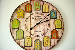 Vintage clock Stock Images
