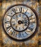 VIntage clocks stock illustration