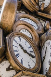 Vintage clocks Stock Image