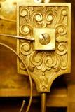 Vintage clockworks closeup Stock Image