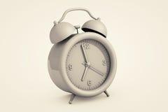 Vintage Closeup Alarm clock Stock Image