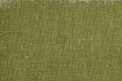 A vintage cloth book cover with green screen pattern. And grunge background textures Royalty Free Stock Images