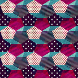 Vintage cloth seamless pattern Royalty Free Stock Images