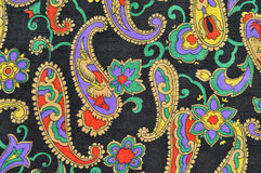 Vintage cloth texture. With classy patterns Stock Image