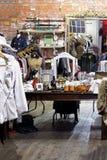 Vintage clothes shop Stock Image