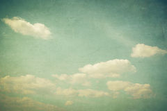 Free Vintage Clouds And Blue Sky With Texture Effect Royalty Free Stock Photo - 87835065