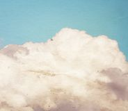 Vintage clouds and sky Stock Photo