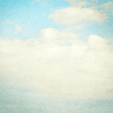 Vintage clouds and sky background. Stock Image