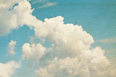 Vintage clouds and sky background. Royalty Free Stock Image