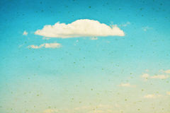 Vintage clouds and sky background. Royalty Free Stock Photos