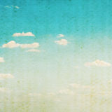 Vintage clouds and sky background. Stock Photography
