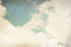 Vintage cloudy background. Watercolor background Royalty Free Stock Photography