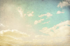 Vintage cloudy background Royalty Free Stock Photo
