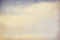 Vintage cloudy background Royalty Free Stock Photos