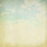 Vintage cloudy background Stock Photo