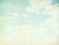 Vintage cloudy background Stock Photography