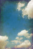 Vintage cloudy sky Stock Photos