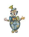Vintage clown Royalty Free Stock Photo