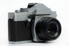 Vintage câmera da foto de 35 milímetros Fotografia de Stock Royalty Free