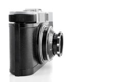Vintage câmera de 35 milímetros Fotografia de Stock