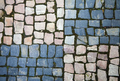 Vintage cobblestone texture Royalty Free Stock Photos
