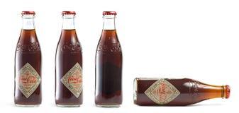 Vintage Coca Cola bottles Royalty Free Stock Photos